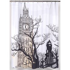 Big Ben Polyester Shower Curtain