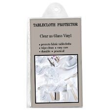 <strong>Carnation Home Fashions</strong> Clear Vinyl Tablecloth Protector