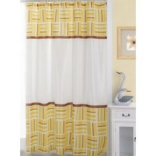 Caroline Polyester Fabric Shower Curtain