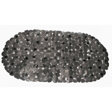 Pebbles Vinyl Rock Look Bath Tub Mat