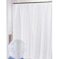 Damask Polyester Fabric Shower Curtain