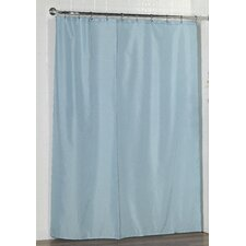 Polyester Shower Curtain Liner with Weighted Bottom Hem