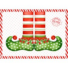 Elf Shoes Expanded Placemat (Set of 4)