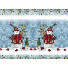 Snow Friends Expanded Placemat (Set of 4)