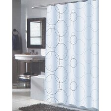 <strong>Carnation Home Fashions</strong> Ava Polyester Shower Curtain