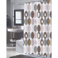 <strong>Carnation Home Fashions</strong> Madison Polyester Shower Curtain