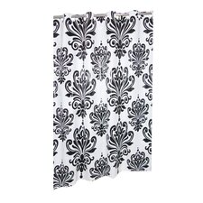 <strong>Carnation Home Fashions</strong> EZ On Beacon Hill Plastic Shower Curtain