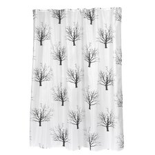 "<strong>Carnation Home Fashions</strong> ""Faith"" Polyester Shower Curtain"