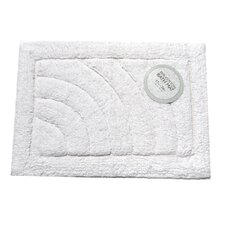 <strong>Carnation Home Fashions</strong> Cotton Single Sided Bath Mat