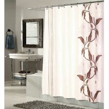 "<strong>Carnation Home Fashions</strong> ""Chelsea"" Polyester Shower Curtain"