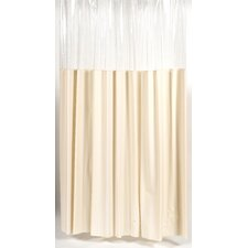 "<strong>Carnation Home Fashions</strong> ""Window"" Shower Curtain / Liner"