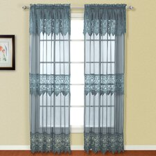 Valerie Rod Pocket Curtain Single Panel