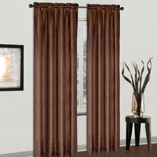Cyndee Rod Pocket Curtain Single Panel