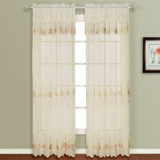 <strong>United Curtain Co.</strong> Marianna Rod Pocket Curtain Single Panel