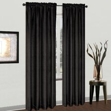 <strong>United Curtain Co.</strong> Cyndee Rod Pocket Curtain Single Panel