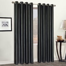 Grommet Curtain Curtain Single Panel