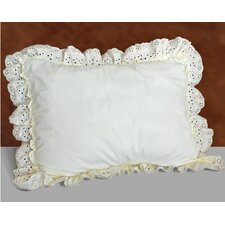 <strong>United Curtain Co.</strong> Vienna Eyelet Pillow Sham