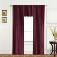 "Dupioni Rod Pocket Tailored 42"" Curtain Valance"