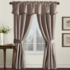 Burlington Rod Pocket  Curtain Five Pieces