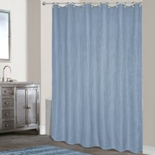 <strong>United Curtain Co.</strong> Hamden Polyester Shower Curtain