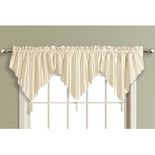 <strong>United Curtain Co.</strong> Anna Ascot Curtain Valance