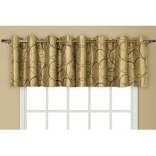 Sinclair Rod Pocket Tailored Curtain Valance