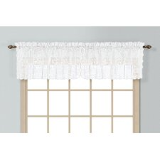 Windsor Rod Pocket Scalloped Curtain Valance