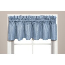 Hamden Rod Pocket Tailored Curtain Valance