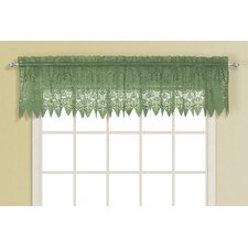 "Valerie Rod Pocket Scalloped 52"" Curtain Valance"