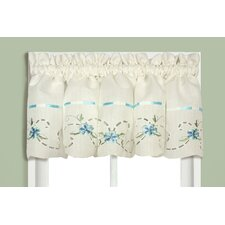 Rachael Rod Pocket Tailored Curtain Valance