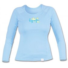 <strong>Hyperflex Wetsuits</strong> Long Sleeve Water Tee in Sky
