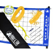 <strong>Park & Sun</strong> Tournament Flex 1000 Volleyball Game Set