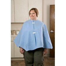 "48"" x 23"" Exam Capes Poncho Style, Scrim Reinforced in Mauve"