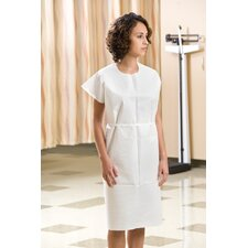 3-Ply Tissue Exam Gown