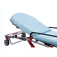 "30"" x 84"" Snugfit® Fitted Stretcher Sheets in Blue"
