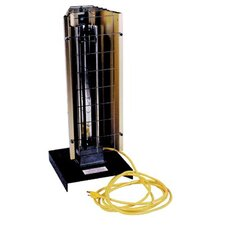 Portable 1,800 Watt Infrared Compact Space Heater