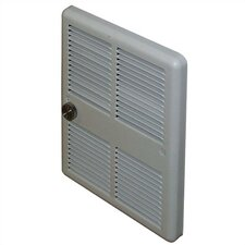 Economical Fan Forced Flat Panel Electric Space Heater with Back Cans