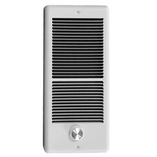 Fan Forced Electric Wall Space Heater with Thermostat