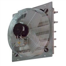 "<strong>TPI</strong> 12"" Shutter Mounted Direct Drive Exhaust  Fan"