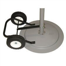 Optional Wheel Kit for TPI Pedestal Air Circulators