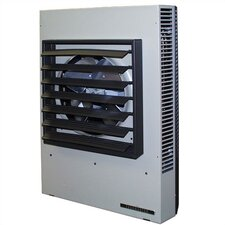 Horizontal / Vertical 204,700 BTU 72.3 Amp Fan Forced Wall Space Heater with Thermostat