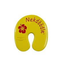 Nekdoodle Floatation Device in Yellow Hibiscus