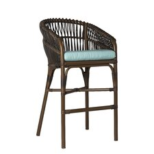 Tahiti Barstool with Cushion