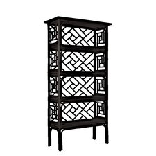 Chinese Chippendale Etagere