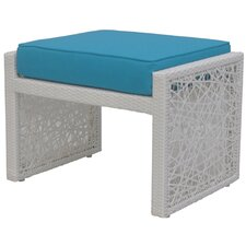 Mykonos Ottoman with Cushion