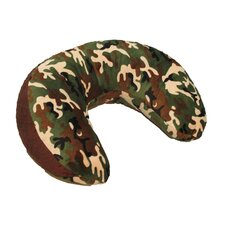 <strong>Ozark Mountain Kids</strong> Green Camoflage Nursing Pillow