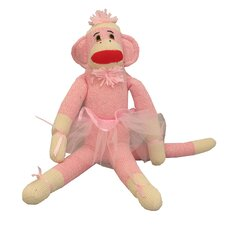 "<strong>Ozark Mountain Kids</strong> ""Bella Ballerina"" Sock Monkey"
