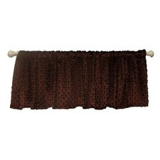 "Chocolate Mint 54"" Curtain Valance"