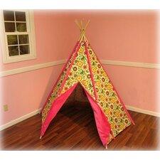 Hot Pink Pinwheel TeePee