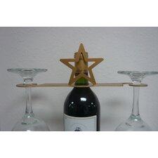 Laser Cut Star 2-Stem Bottle Topper